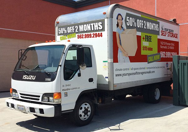 Free move-in truck